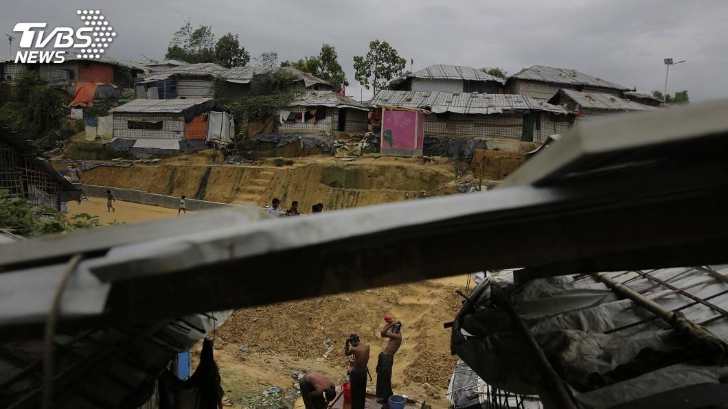 圖/達志影像美聯社 殘暴鎮壓洛興雅 美等數國促制裁緬甸軍頭