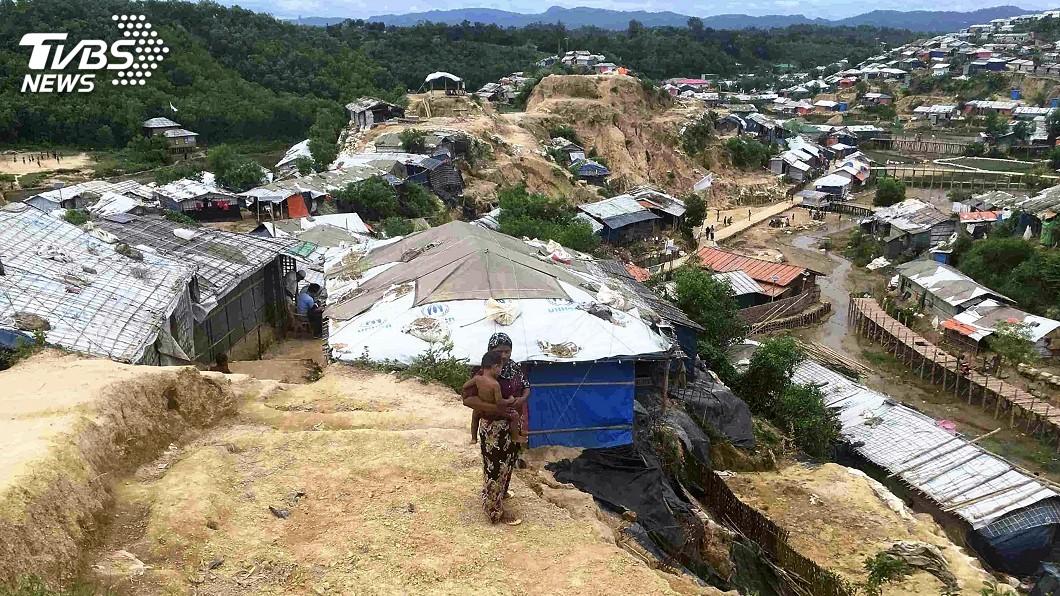 圖/達志影像美聯社 緬甸策劃洛興雅屠殺 中國可能阻撓安理會制裁