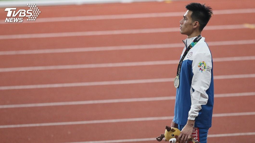 圖/中央社 「最速男」楊俊瀚目標跑進10秒內 盼1年半達標