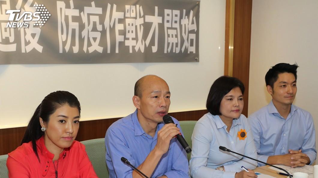 圖/中央社 南台灣淹水過後 韓國瑜籲政府重視防疫工作