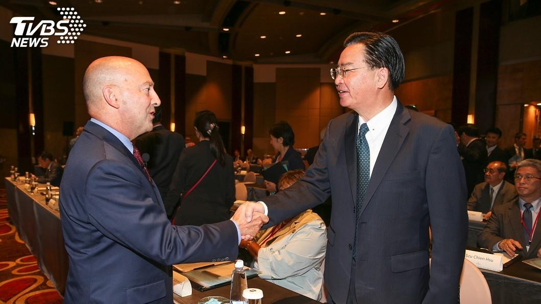 圖/中央社 前北約盟軍統帥:台灣在印太區域扮演重要角色