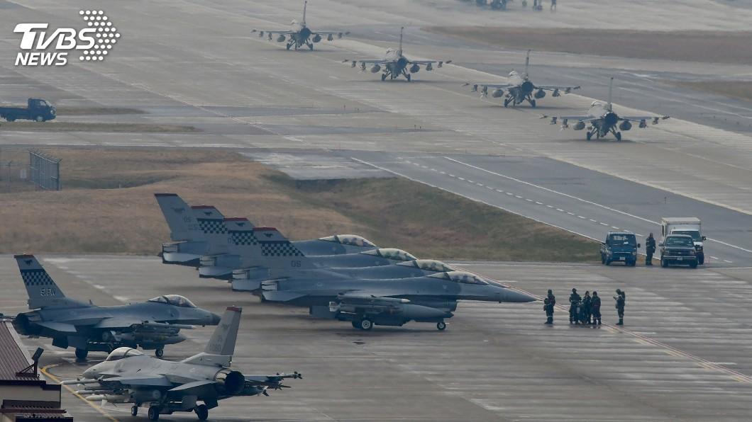 圖/達志影像路透社 北韓非核化進展膠著 美國計劃軍演施壓