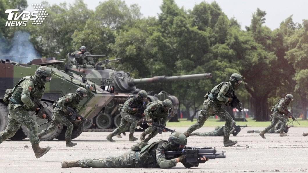 圖/TVBS 莫健肯定台發展長期戰力 籲提升短期遏阻力