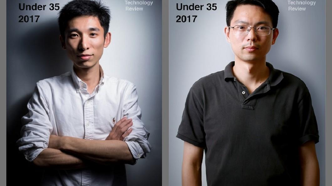 阿里巴巴人工智能實驗室(A.I. Labs)首席科學家王剛(右)及阿里雲首席安全科學家吳翰清(左)獲評選為《麻省理工學院科技評論》(MIT Technology Review)2017年全球青年科技創新人才(TR35)。圖/翻攝阿里足跡