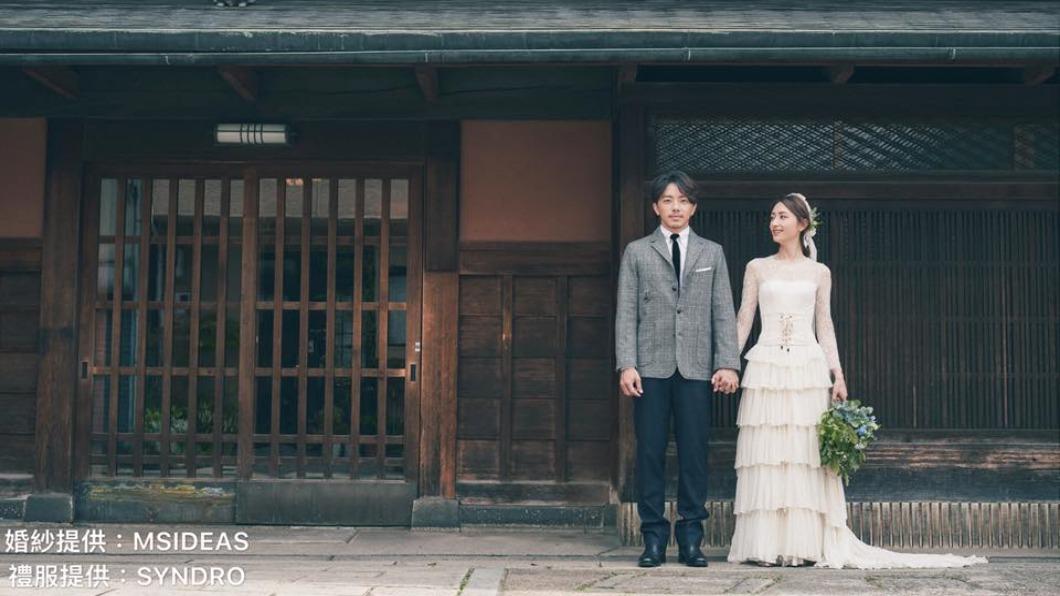 圖/翻攝自有聲娛樂 The Voice Entertainment臉書 重返京都定情地 柯佳嬿、謝坤達浪漫婚紗照曝光!