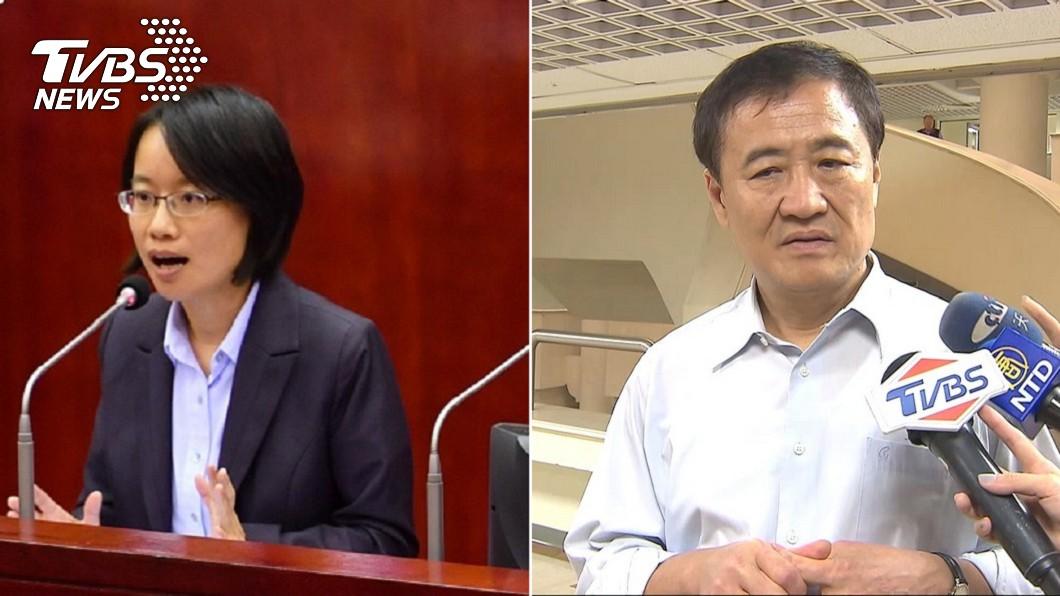圖/中央社(左)、TVBS(右) 市場改建吳音寧爭議不斷 陳景峻:北農版尚未通過