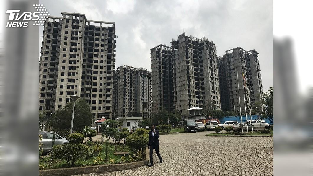 圖/達志影像路透社 衣索比亞首都變中國城?北京政府重劃非洲天際線
