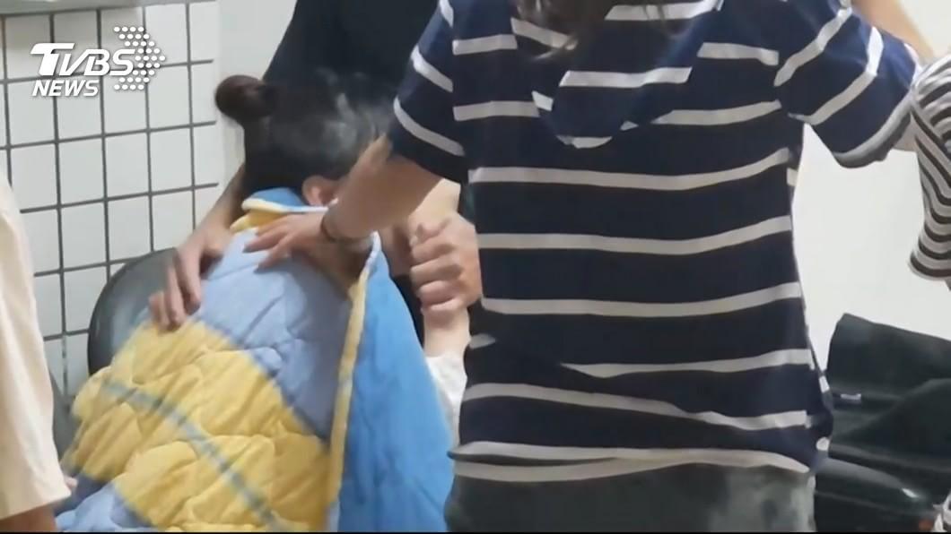 圖/TVBS 男友宜蘭英勇救人卻溺斃 女友燒炭輕生:很累很痛先走了