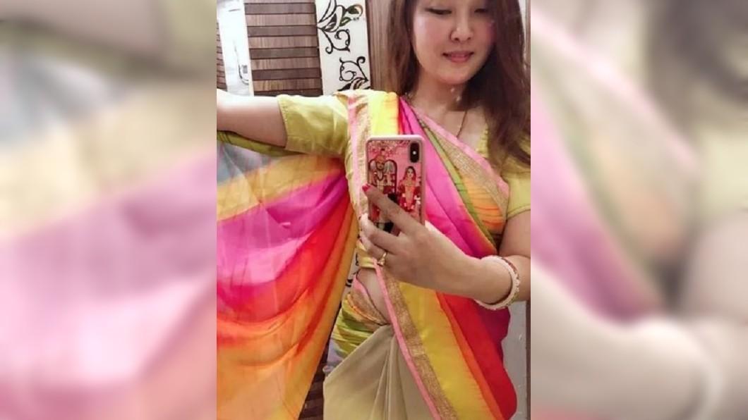 圖/翻攝自北京媳婦的印度生活微博 鼓吹嫁印度「老公養一輩子」 她誇張炫富被戰翻