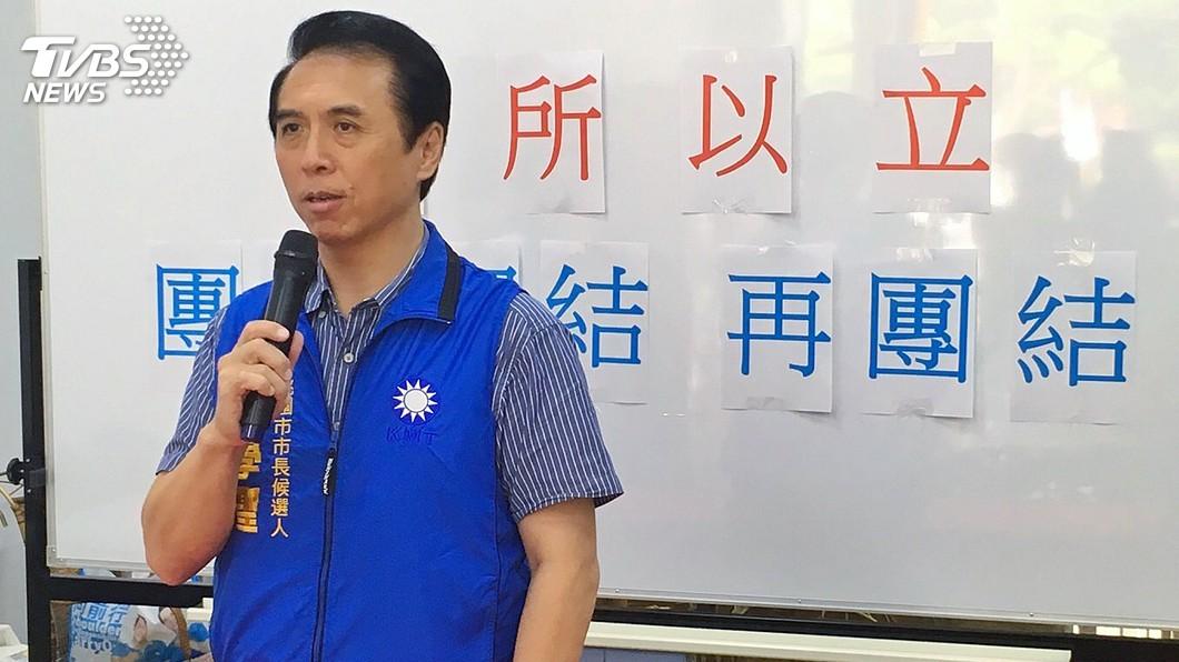 圖/中央社 傳郭幕僚遷戶籍備戰 陳學聖:若要選就放馬過來