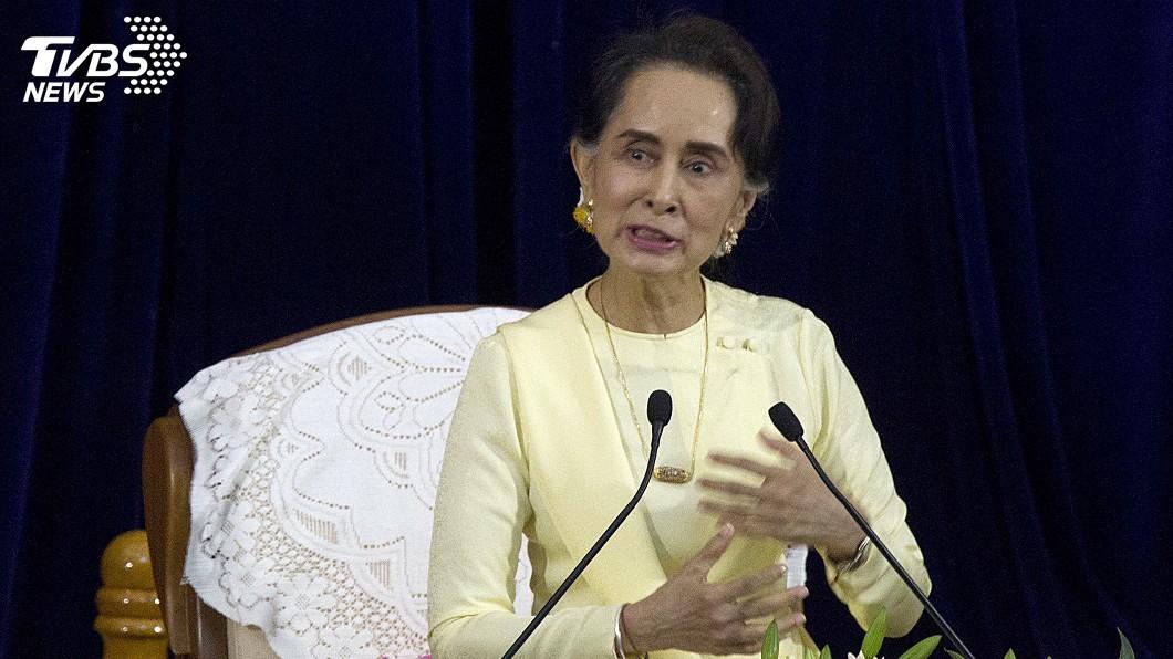 圖/達志影像美聯社 記者重判沉默以對 緬甸官員為翁山蘇姬辯解