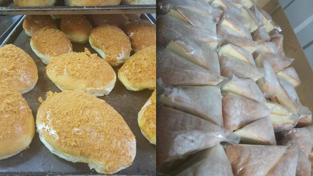 圖/翻攝自 臉書 學校訂大量餐盒「惡意棄單」 萬顆麵包10元出清