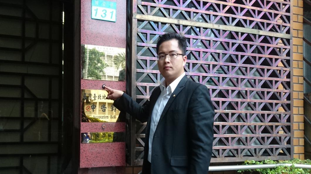 圖/中央社 發文護柯文哲器官移植案 王威中遭批「賠上整個民進黨」