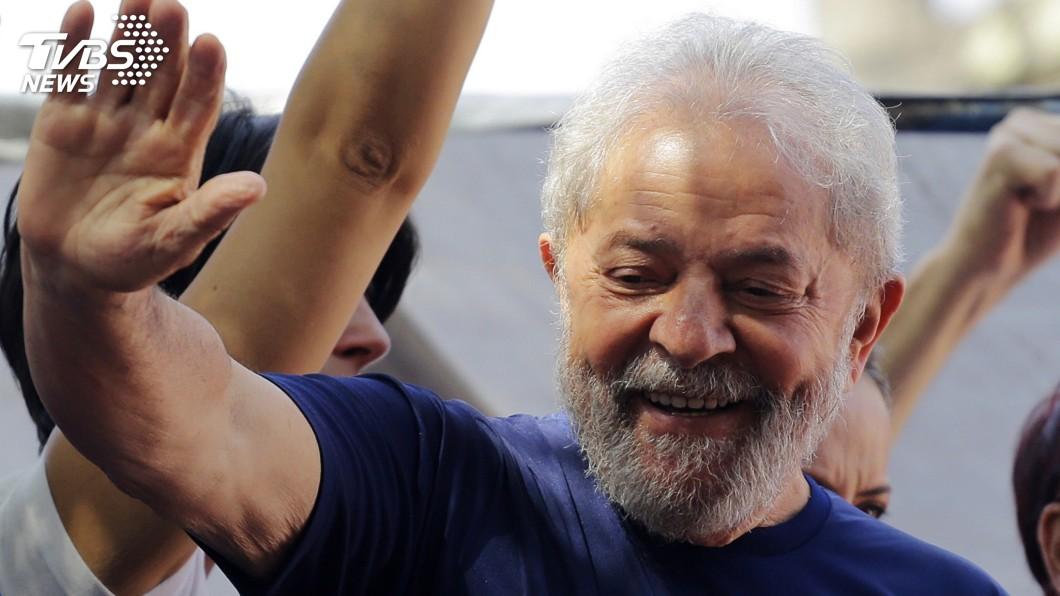 圖/達志影像美聯社 前巴西總統魯拉 獄中堅持參選總統