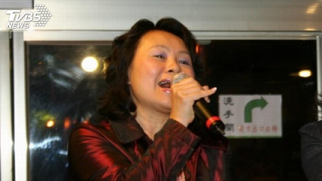 圖/中央社 吳敦義盼她「競而不選」 鄺麗貞臉書:選真的
