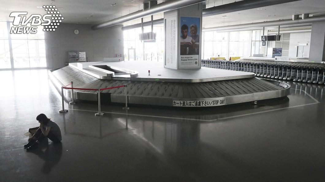 大阪關西國際機場。圖/達志影像美聯社