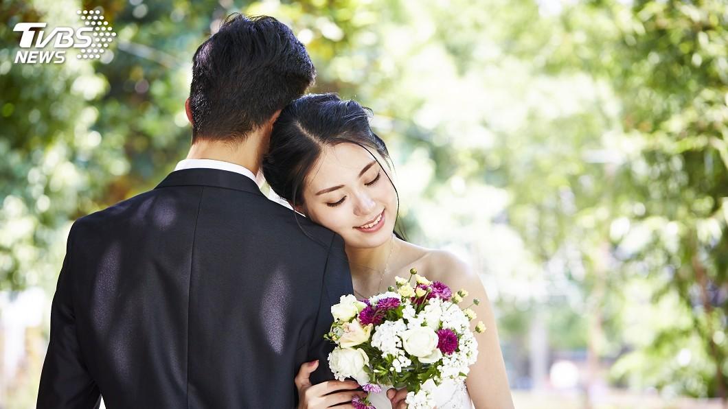 示意圖/TVBS 「00後」性別比例失衡 中國結婚率恐再下降