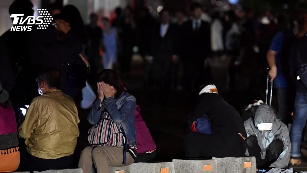 圖/達志影像路透社 北海道凌晨規模6.7強震 295萬戶停電