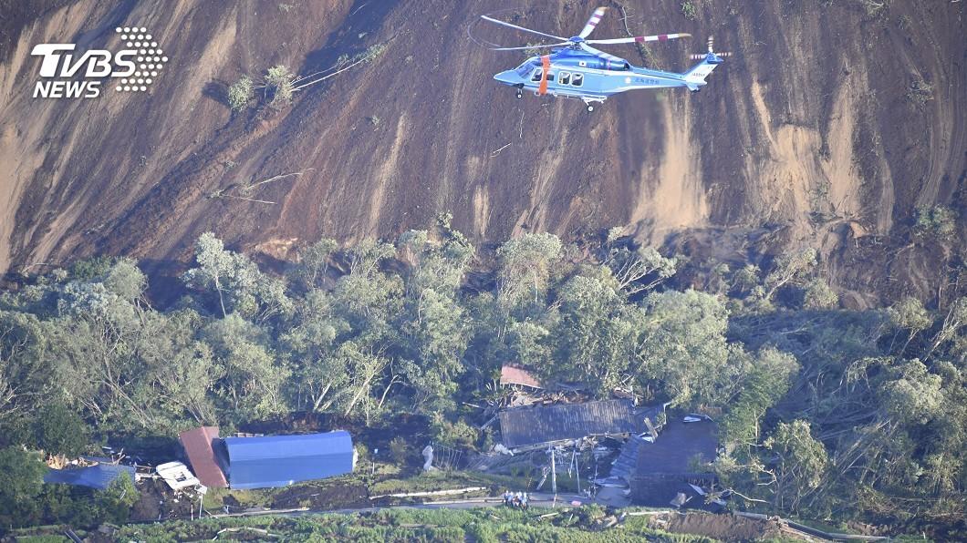 圖/達志影像美聯社 北海道凌晨強震 山崩埋屋人員受傷
