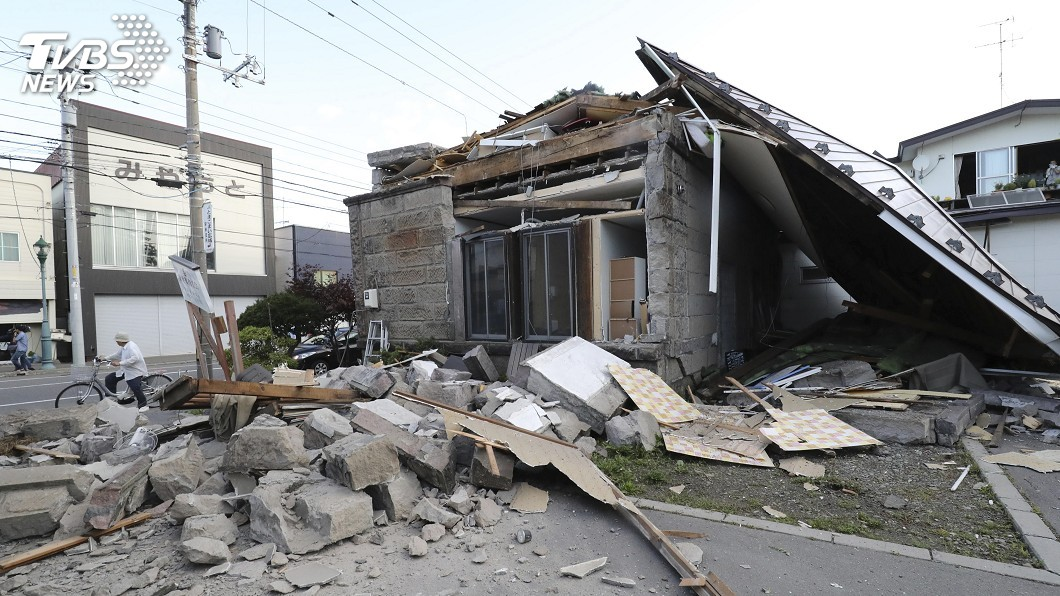 圖/達志影像美聯社 北海道強震 觀光局:未接獲台灣旅客傷亡
