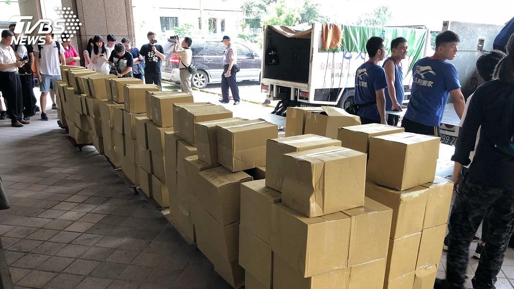圖/中央社 以核養綠公投補件爭議 北高行裁定中選會要受理
