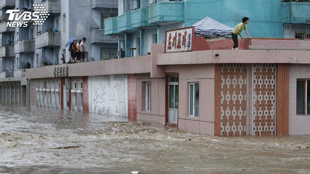圖/達志影像美聯社 北韓洪災釀76死75失蹤 數千人無家可歸