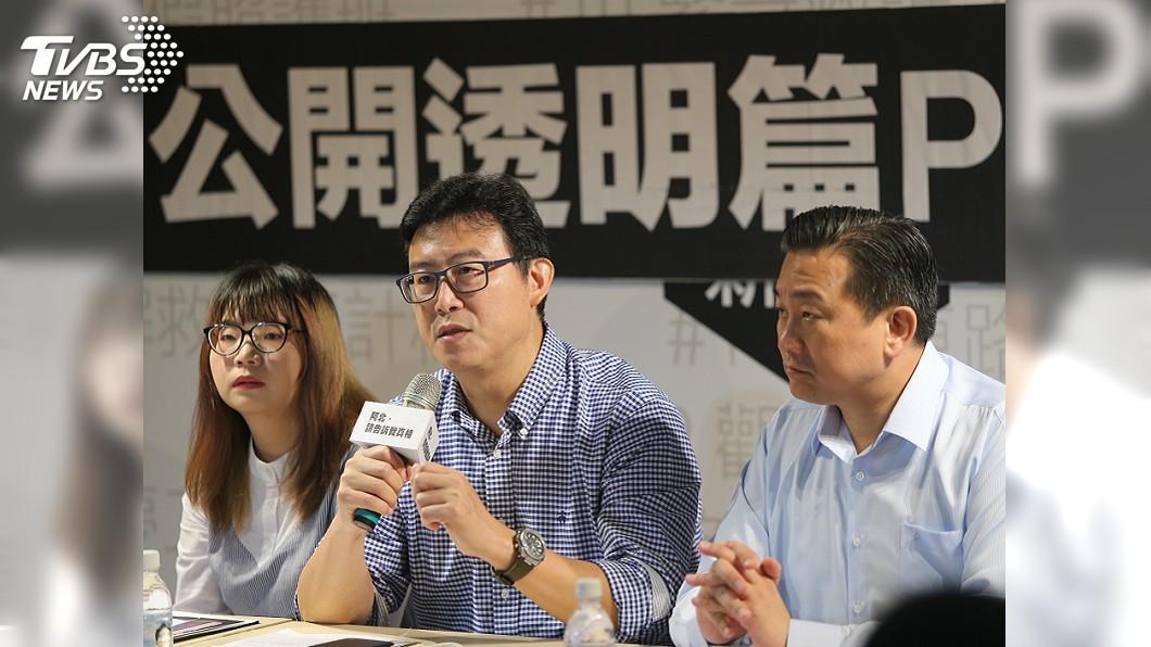 圖/中央社 果菜市場改建案 姚陣營向柯文哲提4問題