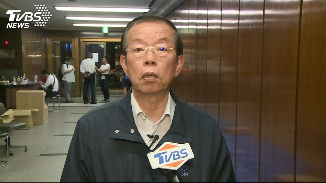 圖/TVBS資料畫面 駐日代表挨批無作為 綠營人士指謝長廷「背黑鍋」