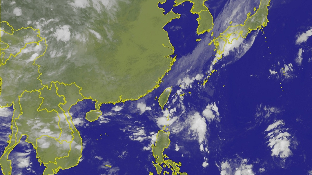 圖/翻攝自中央氣象局網站 雙北超大豪雨特報 山竹增強恐成最強颱襲台