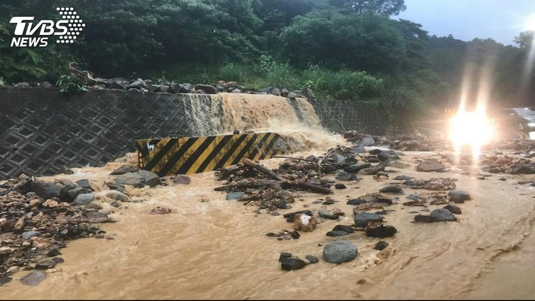 圖/TVBS 山區洪水偵測新專利 大幅提高防災預警效能