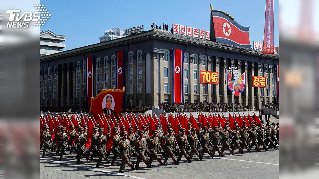 圖/達志影像路透社 北韓閱兵未見最先進飛彈 川普:十分正面的表態