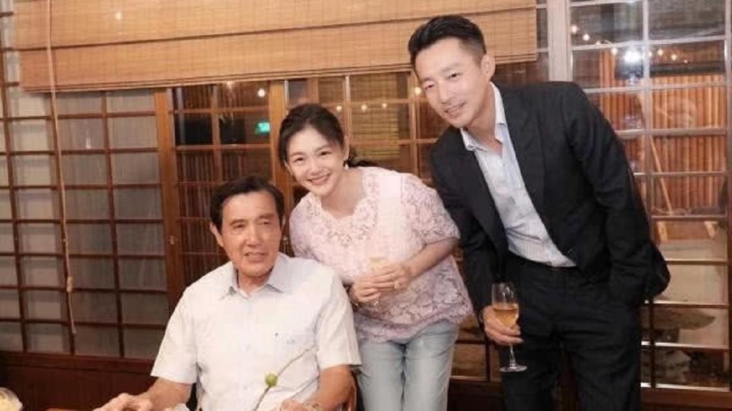 圖/翻攝自微博 出席郭董富豪家宴貼馬英九 大S親曝有「這層」關係