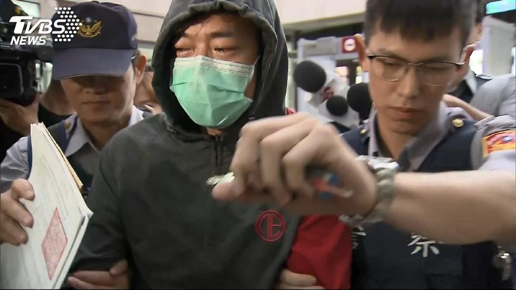 圖/TVBS 本土劇男演員清晨持毒遭逮 車內搜出安非他命成分針筒