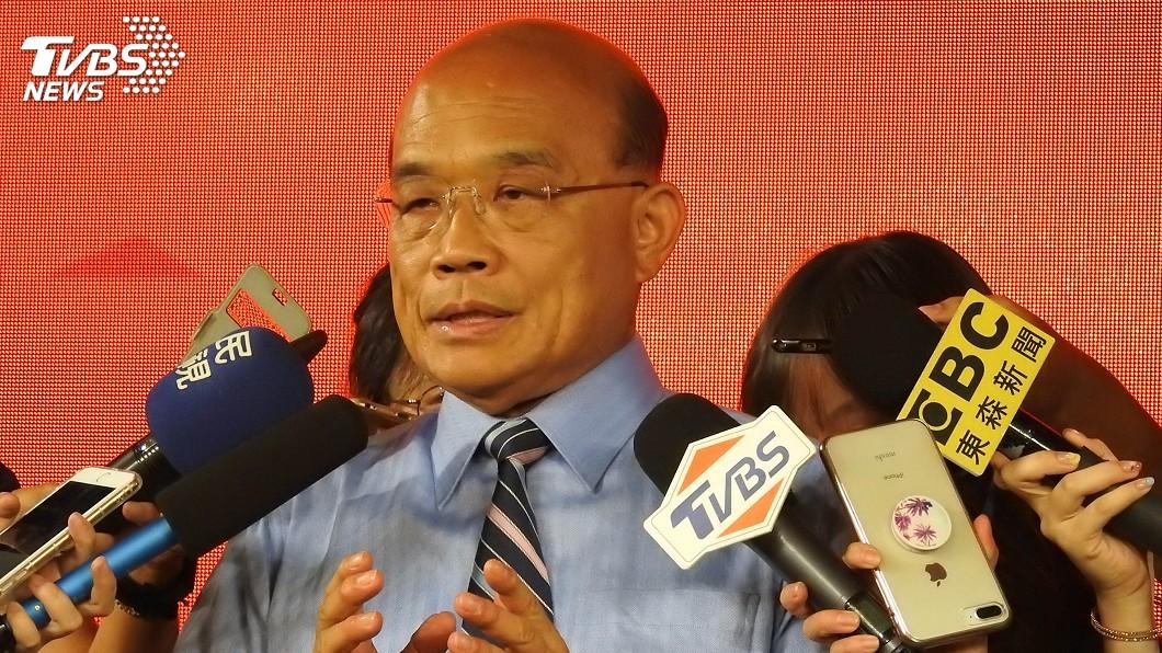 圖/中央社 蘇貞昌:站在對抗威權這邊 對促轉有很大期待