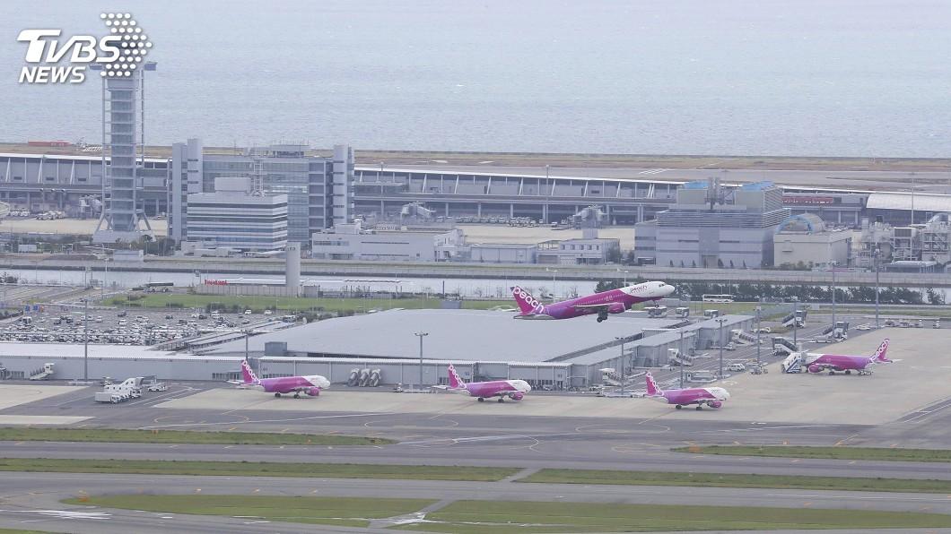 圖/達志影像美聯社 關西機場拚14日重啟航站 3週修復鐵路