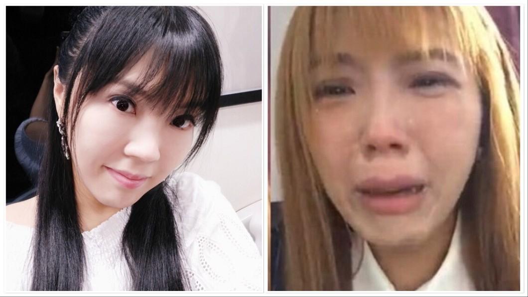 圖/翻攝自劉樂妍微博 怒喊「我真恨北京」!女版黃安淪落街頭慘蹲路邊哭