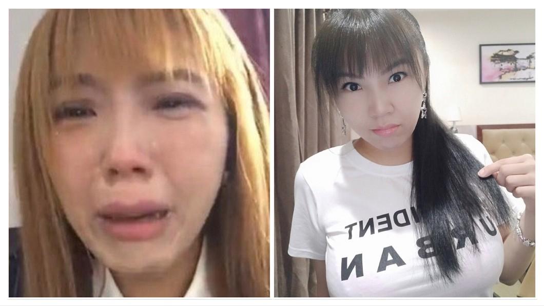 圖/翻攝自劉樂妍微博 哭喊流落街頭遭陸網友圍剿 劉樂妍回嗆:跟我吠什麼?