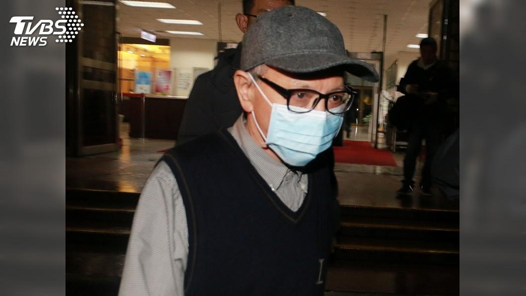 圖/中央社 收賄判36年定讞 立院前秘書長林錫山入監執行