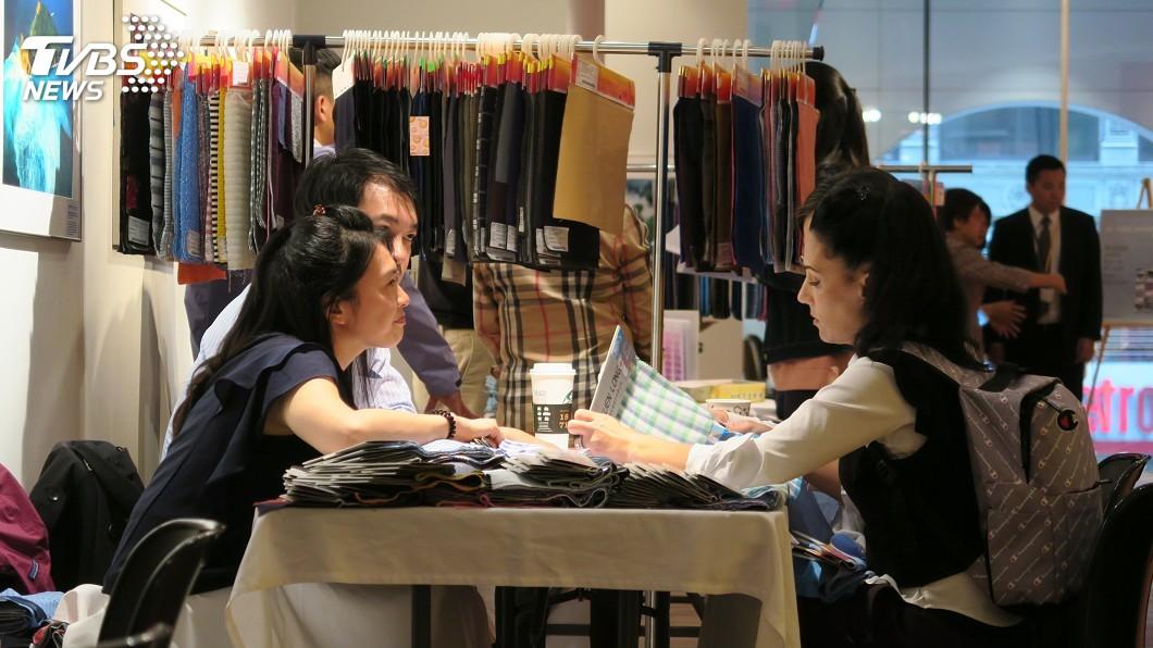 圖/中央社 台灣紡織業者紐約拓銷 抓住時裝週商機