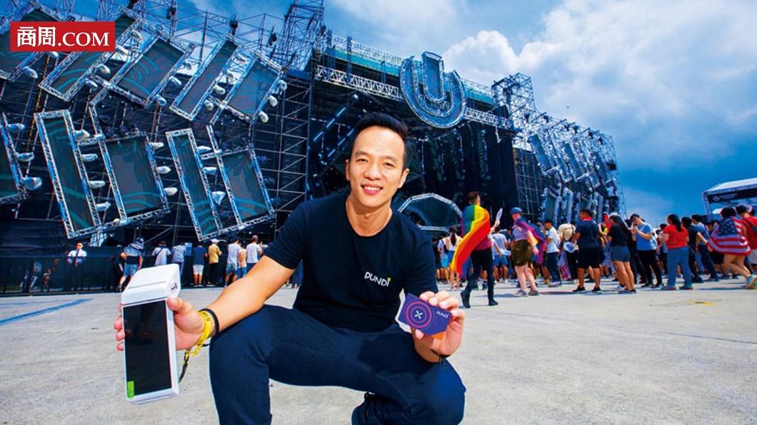 Pundi X創始人暨執行長謝子斌。圖/商周 【商周】他把台灣最大電音趴 變虛幣應用實驗場