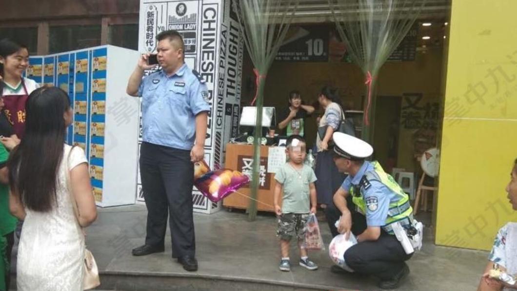 圖/翻攝自掌中九江微博 「這小孩我不要了!」 狠心母棄兒留離婚協議書