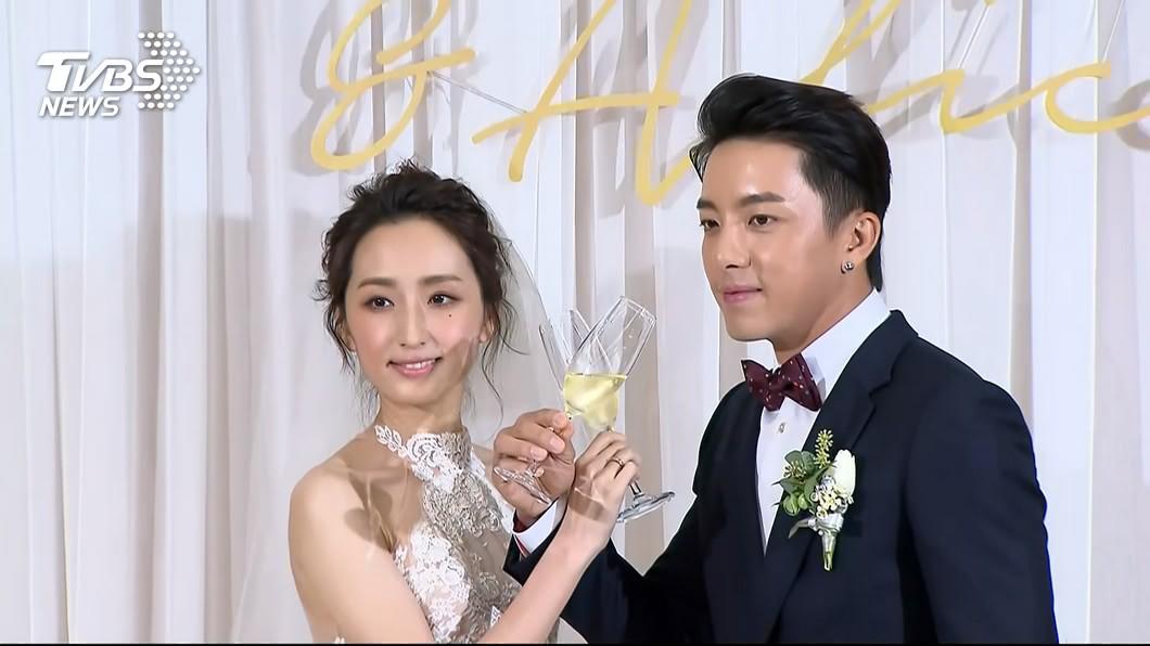 圖/TVBS 大婚糗忘NuBra!柯佳嬿尺度大開 放話:今晚懷孕