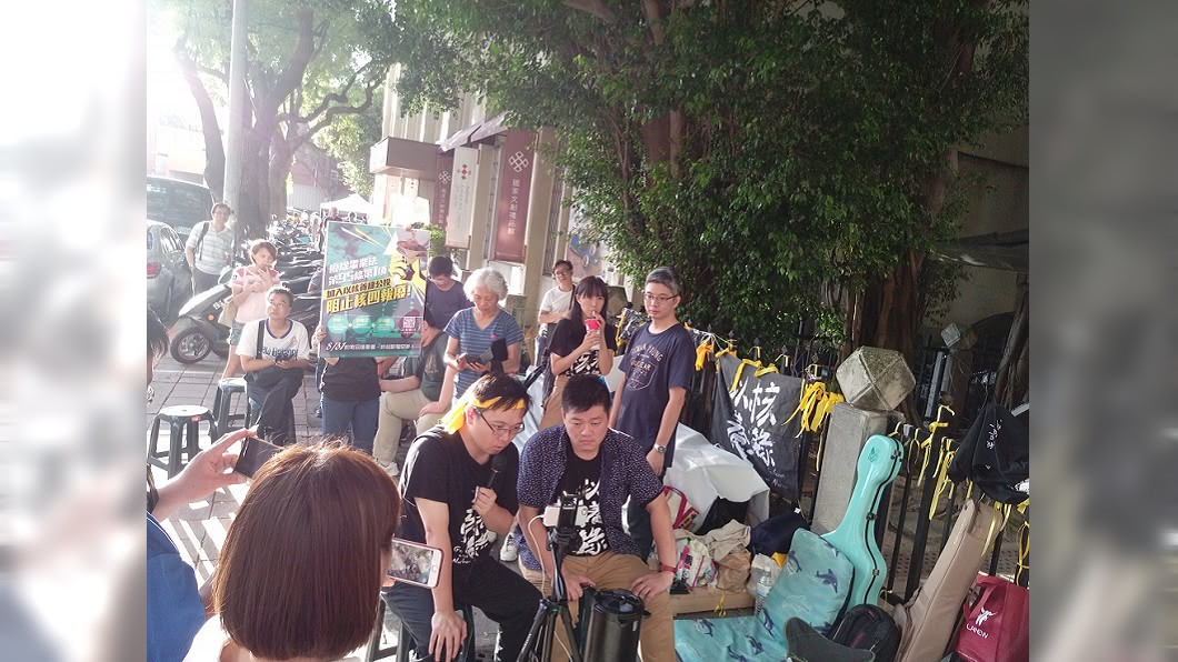 圖/翻攝自黃士修臉書 無視絕食抗議 張善政:蔡政府跟對岸獨裁沒兩樣