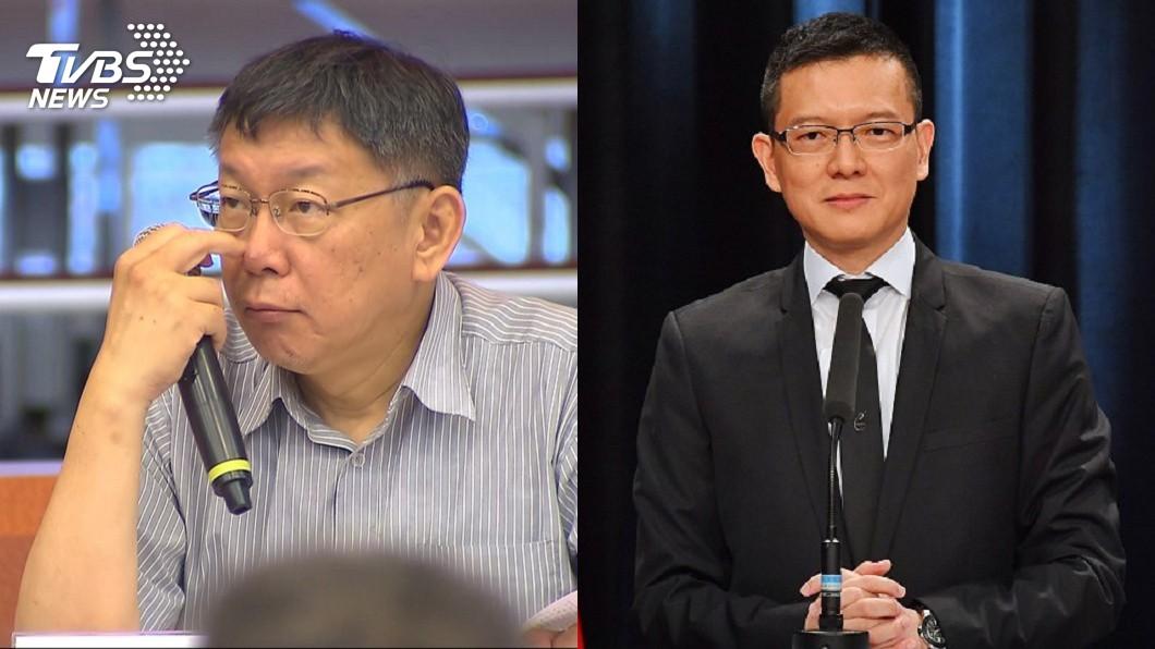 圖/TVBS(左)、中央社(右) 北農董座陳景峻請辭 孫大千:柯不必再綁手綁腳