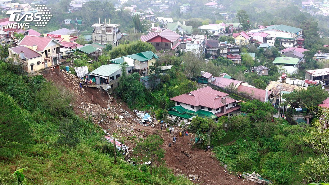 圖/達志影像路透社 山竹颱風肆虐 菲國非官方罹難人數突破60