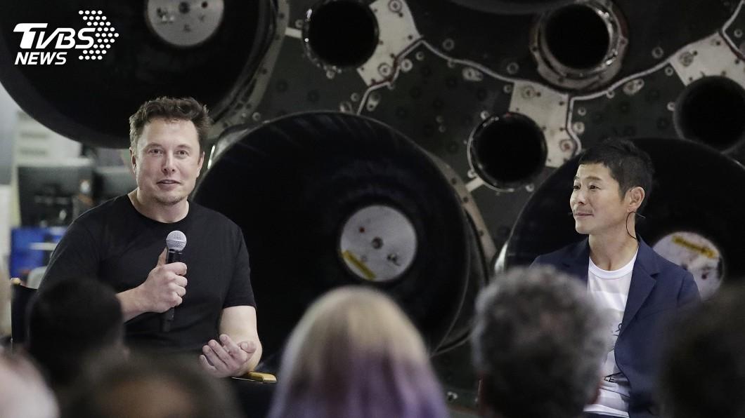 圖/達志影像美聯社 SpaceX神秘乘客揭曉! 日時尚電商社長將繞月