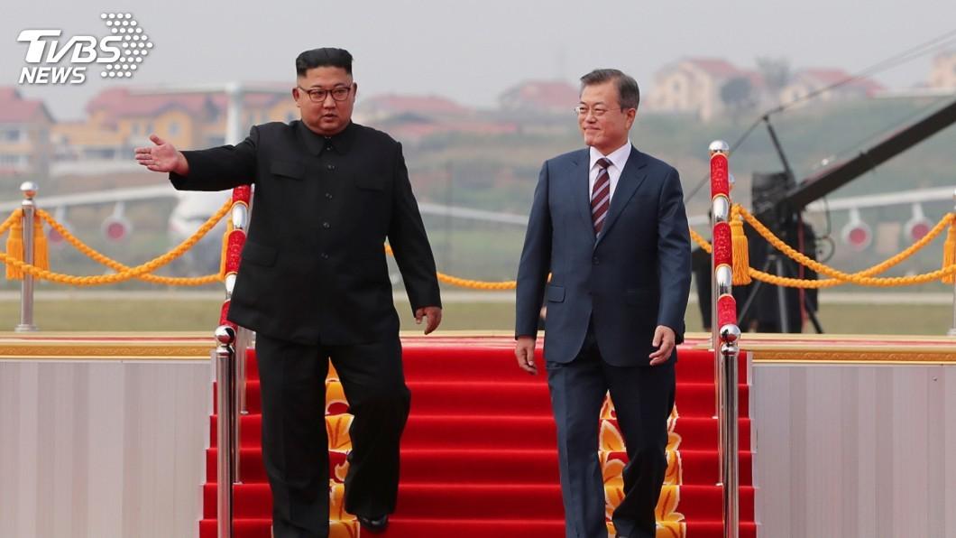 圖/達志影像路透社 平壤文金三會 下午舉行首輪會談