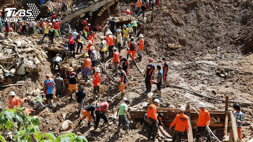 圖/達志影像路透社 山竹肆虐菲律賓釀74死 數十人恐仍埋土石下