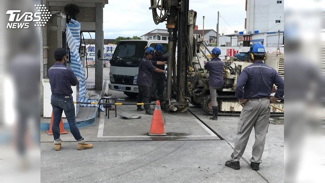 圖/TVBS 中油漏油檢測達標?環保署:甲苯超標293倍