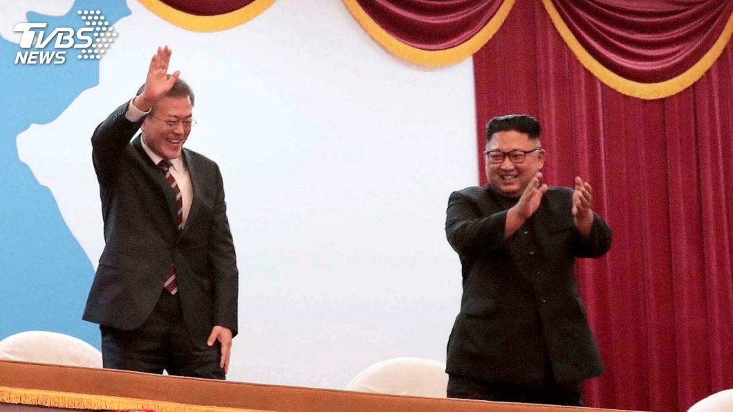 圖/達志影像路透社 文金會簽共同宣言 北韓同意有條件關寧邊核設施
